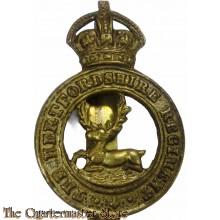 Cap badge Hertfordshire Regiment WW1