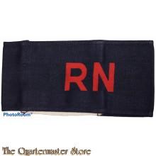 Brassard  R N (Royal Navy Armband) canvas