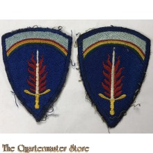 Mouw embleem SHAEF (Shoulder patch SHAEF)