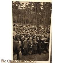 Prent briefkaart 1946 landelijke herdenkingsdag L.O-LKP Zeist