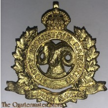 Cap badge Rocky Mountain Rangers