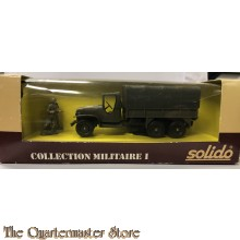 Boxed SOLIDO Military 1/43 Scale Diecast 6032 - GMC