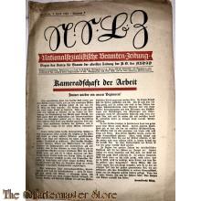 Nationalsozialitische Beamten-Zeitung no 7 1934