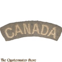 Shoulder flash CANADA (arched)