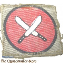 Formation patch East Africa Command (canvas)