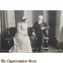 AnsichtsKarte (Mil. Postcard) Friedrich von Baden/Louise prinses von Preussen 1906