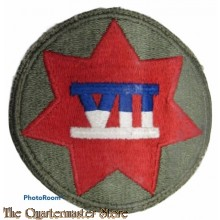Mouwembleem VII th Corps (Sleeve badge VII th US Corps)