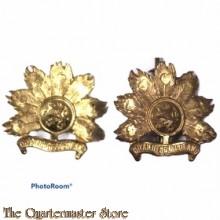 Schouder emblemen Regiment Infanterie Oranje Gelderland