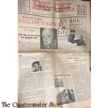 "Satirisch NSB blad ""de GIL"" no 7 6 juni 1944"