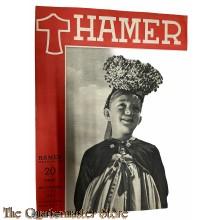 Maandblad de Hamer 4e jrg  no 9,  juni 1944