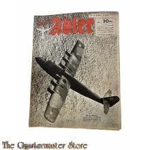Zeitschrift Der Adler heft 6 , 14 Marz 1944 (Magazine Der Adler no 6 , 14 Marz 1944)