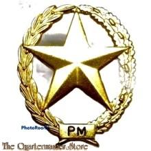 Brevet PISTOOL MITRAILLEUR Nederlands leger (Dutch UZI sharpshooter badge)