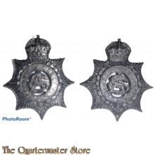 Collar badges Australian Army Service Corps (AASC)