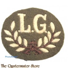 Sleeve patch Qualification trade badge Lewis Gunner (First Class)