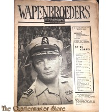 Krant, Wapenbroeders no 17 Ned Strijdkrachten in Indonesie 3e jrg 29 juli 1948