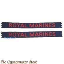 Shoulder flashes  Royal Marines  (Royal Marines )