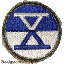 Mouwembleem 10th Corps (Sleeve patch 10th Corps)