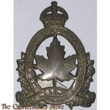 Cap badge British Columbia Dragoons , 3rd Canadian Infantry Division