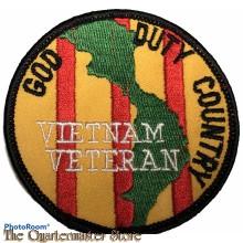Blazer badge VIETNAM Veteran