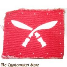 Formation Badge 48th Gurkha Brigade (canvas)