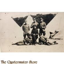 Foto onderofficieren 1916 tentenkamp