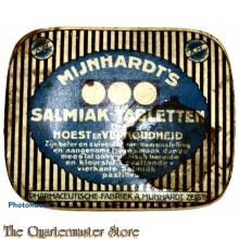 Blikje Mijnhardts samiak tabletten 1940