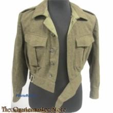 Battle Dress met broek Korps Mariniers 1956
