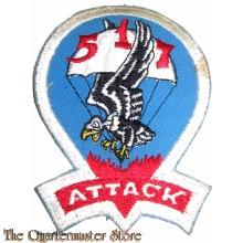 Badge 517th Parachute Regimental Combat Team
