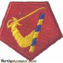 Mouwembleem National State Massachusetts  (Sleeve badge Nat State Massachusetts)