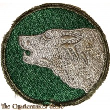 """Mouwembleem 104e Infanterie Divisie (Sleeve patch 104th """"Timberwolves"""" Infantry Division)"""