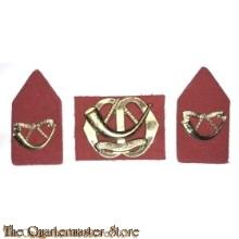 Baret embleem en kraag Regiment Infanterie Menno van Coehoorn