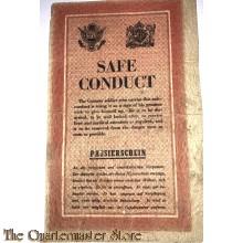 Flugblatt US/GB ZG2.37 Passierschein/Safe Conduct