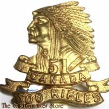 Cap badge 51st Soo Rifles Regiment Canadian Army