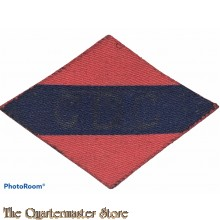 Formation patch 4 Dental Company , CDC , 1st Canadian Army (canvas)