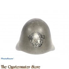 Danish Model 1923 Steel Army Helmet re-issued POLIZEI