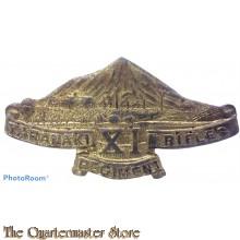 Cap badge 11th Taranaki Rifles Regiment