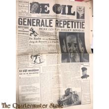 "Satirisch NSB blad ""de GIL"" no 14,  december 1944"