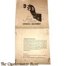 Rechnung Strom Oldenburg jan-febr 1943