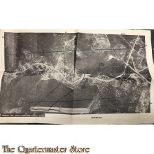 Map Infantry School Fort Benning Georgia 1943