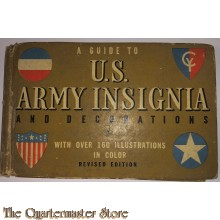 Booklet US Army a guide to  insignia and decorations WW2