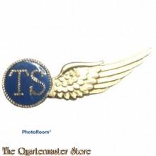Brevet Luchtvarenden TS (Telegrafist-Schutter) KLU Halve wing metaal (TOY LONDON)