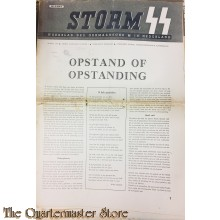 Weekblad Storm SS no 1 , 7 april 1944