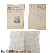 Hefte Deutsche Stenographen 1940 (Paperwork Deutsche stenographen)
