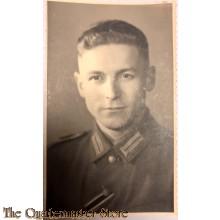 Studio portret decorated soldier