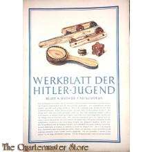 Werkblad der Hitlerjugend Blatt 9 (bouw instructies)