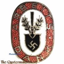 Arbeitsdank-Ehrennadel RAD (Reichsarbeitsdienst) (RAD (Reichsarbeitsdienst) enamelled honour pin)