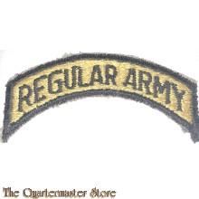 Shoulder title Regular Army