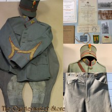 Documentatie met uniform 8RA (Grebbe 1940)