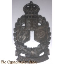 Cap badge Royal Canadian Electrical and Mecanical Engineers R.C.E.M.E. (canvas)