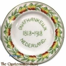 Wandbord onafhankelijk Nederland 1813-1918